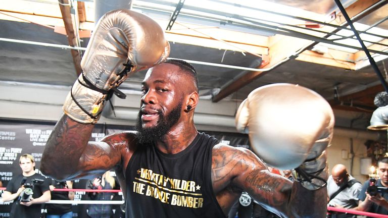 Deontay Wilder defends his WBC belt against Dominic Breazeale next Saturday, live on Sky Sports