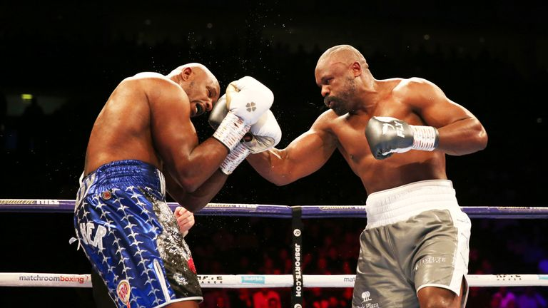 Chisora had made a strong start to the rematch
