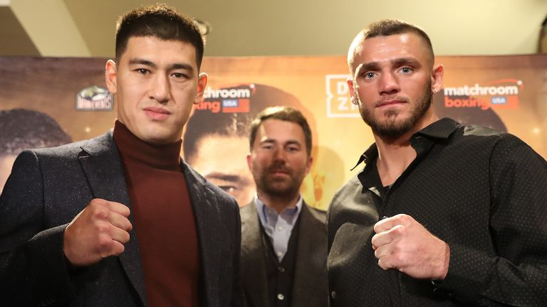 Dmitry Bivol's battle with Joe Smith Jr is top of this weekend's bill