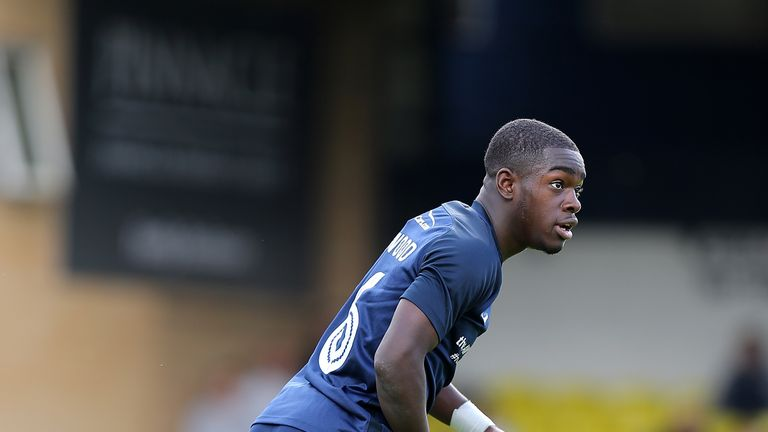 Dru Yearwood has made more than 50 appearances for Southend despite being just 18