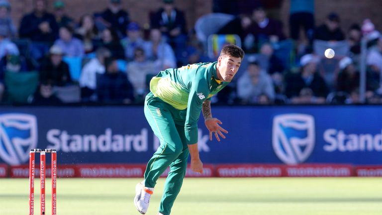 Duanne Olivier announced the end of his South Africa career last month