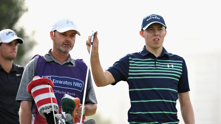 Matt Fitzpatrick has Westwood's former caddie, Billy Foster, on the bag this week