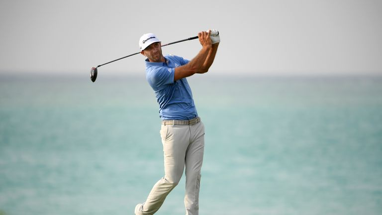 Dustin Johnson wins controversial Saudi International golf tournament with late birdies