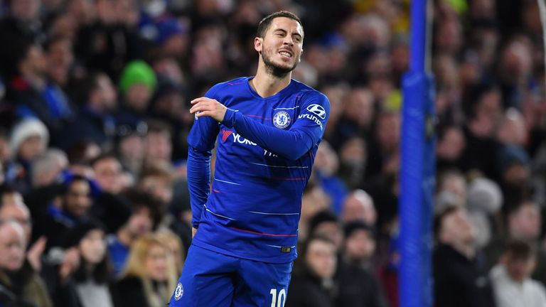 Real Madrid already have an agreement in place for Eden Hazard