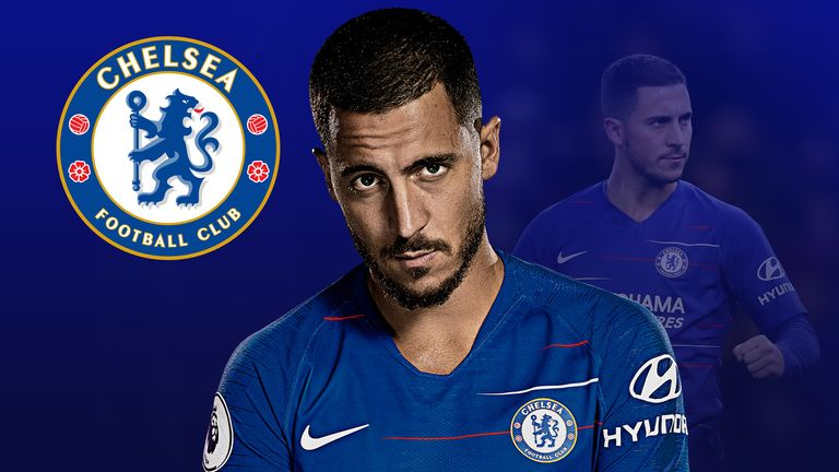 Eden Hazard is being used as a striker by Chelsea boss Maurizio Sarri