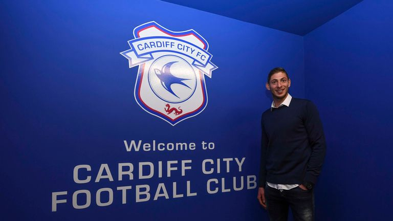 Emiliano Sala, Cardiff (PLEASE USE ONLY ON ORIGINAL STORY)