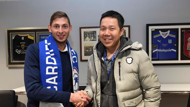 Nantes have pressed Cardiff for the £15m fee for Emiliano Sala