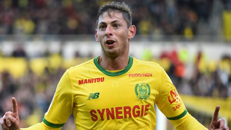 Emiliano Sala has 12 Ligue 1 goals for Nantes so far this season