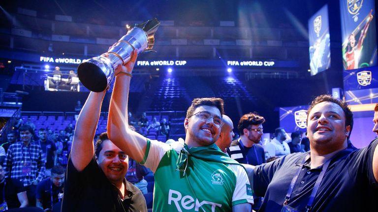MSDossary won the 2018 FIFA eWorld Cup (credit: Reuters, Henry Nicholls)