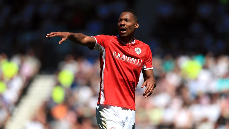 Ethan Pinnock has joined the Bees from Barnsley