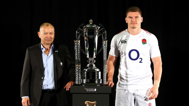 Eddie Jones and Owen Farrell will have their eyes set on reclaiming the title