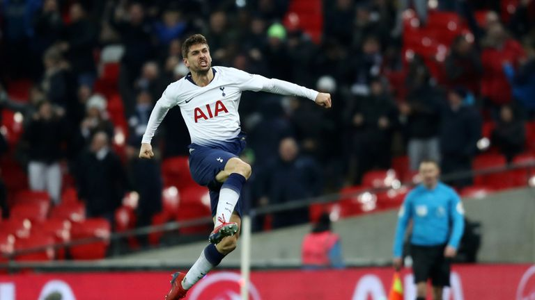 Fernando Llorente  joined Spurs in the summer of 2017 from Swansea