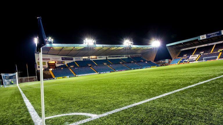 Kilmarnock's Rugby Park has an artificial surface