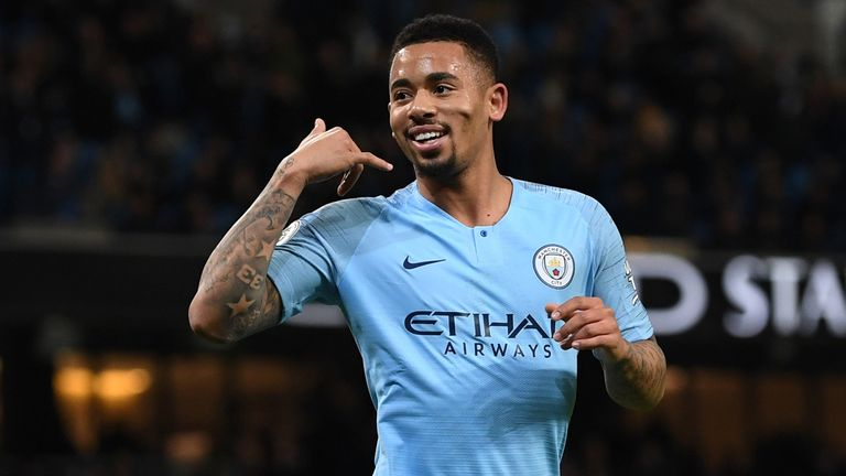 Gabriel Jesus has scored 12 goals in his last eight appearances for Man City in all competitions at the Etihad Stadium.