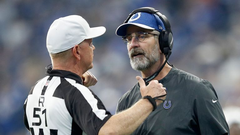 Colts head coach Frank Reich has led the team on a remarkable late-season run