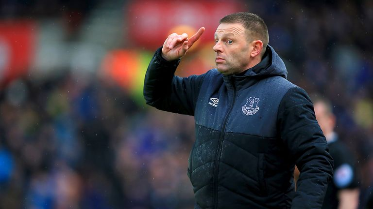 Graeme Jones has previously coached at a number of clubs, including Everton