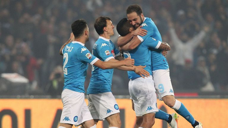 Higuain was head and shoulders above the rest in 2015/16