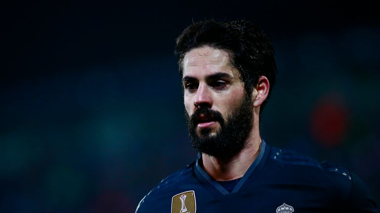 Isco started just his third game under Santiago Solari on Wednesday night