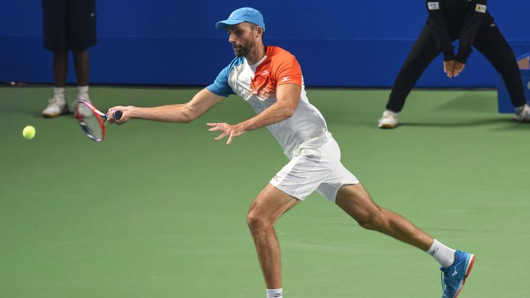 Ivo Karlovic will play Kevin Anderson in the final