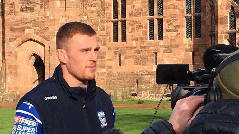 Jack Hughes is now a Warrington co-captain