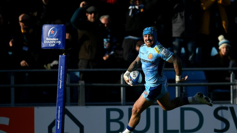 Jack Nowell made a try-scoring return to action for the Chiefs on Sunday