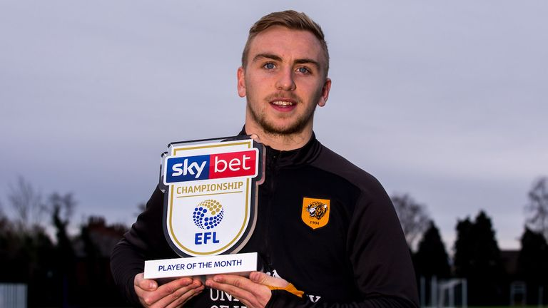 Bowen won the Sky Bet Championship Player of the Month award for December