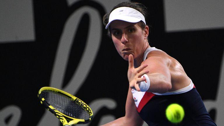 Johanna Konta follows Andy Murray out of Brisbane tournament to end British interest | Tennis News |