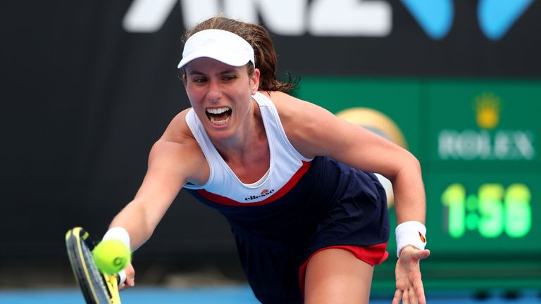 Johanna Konta and Serena Williams reach Australian Open second round