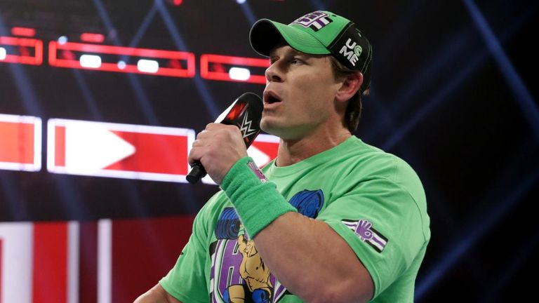 John Cena was back on Raw, and confirmed his entry for this year's Royal Rumble