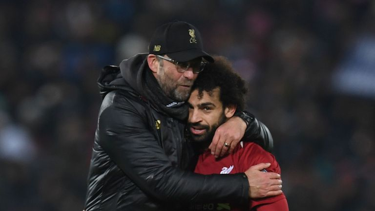 Jurgen Klopp says he has not spoken to Mohamed Salah about the incident against Crystal Palace