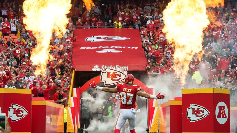 The fervent home support at Arrowhead Stadium could help the Chiefs to victory