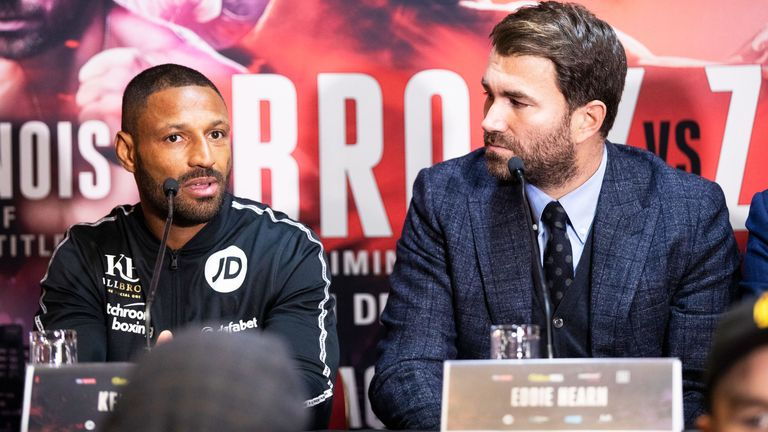 Kell Brook jabs Amir Khan over Terence Crawford bout