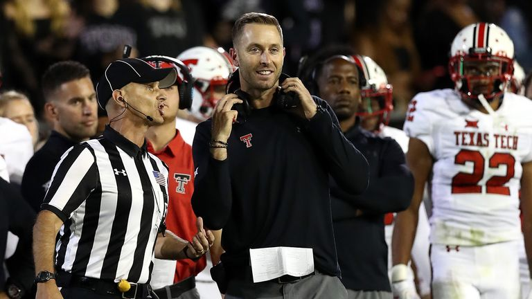 Kliff Kingsbury was hired by the Arizona Cardinals as their new head coach at the beginning of January