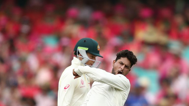 India Bowl Aussies Out Courtesy Kuldeep's Fifer, Enforce Follow-On