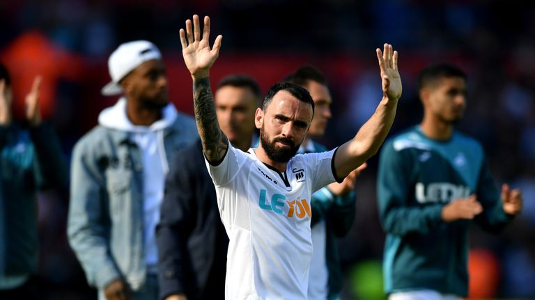 Leon Britton helped Swansea rise from League Two to the Premier League