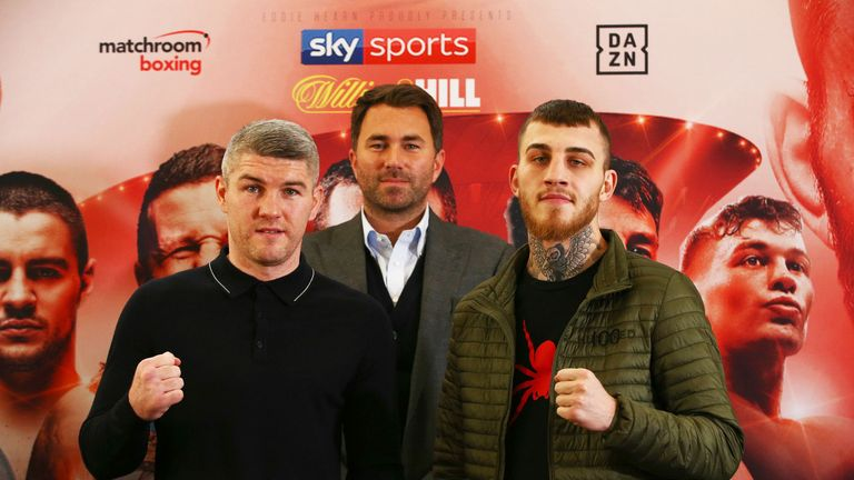 Liam Smith faces Sam Eggington in Liverpool on Saturday night, live on Sky Sports