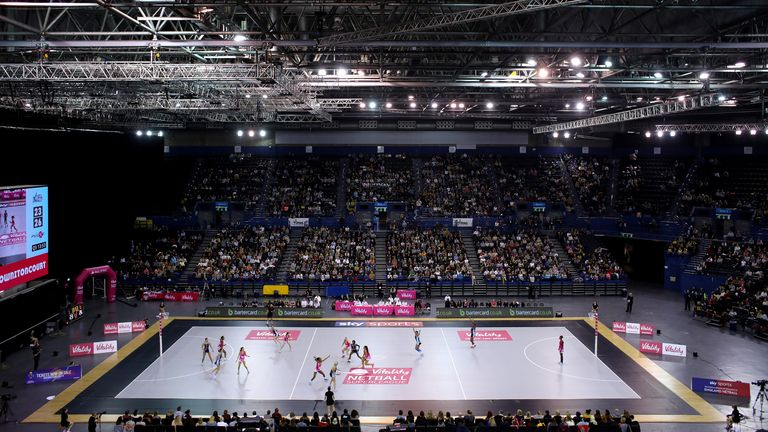 London's Copper Box is the London Pulse home as they look to make their mark on the Superleague