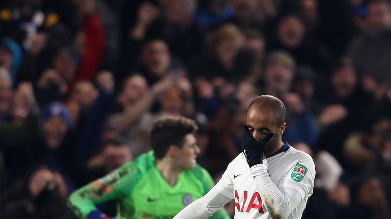 Tottenham lost their Carabao Cup semi-final tie against Chelsea on penalties