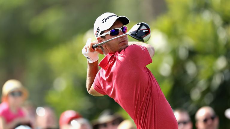 Herbert mixed six birdies with four bogeys and a double-bogey