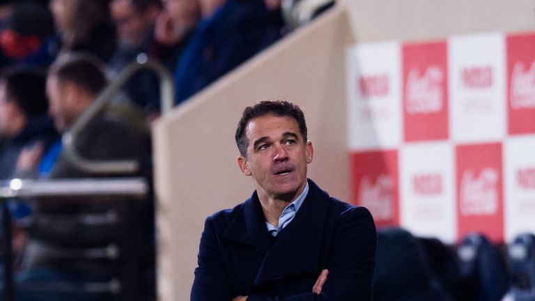 Luis Garcia lasted just 50 days as Villarreal boss