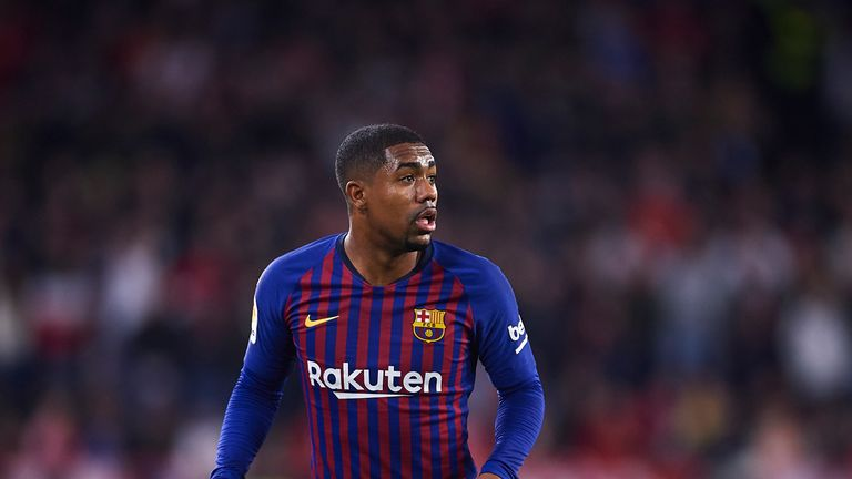 Barcelona's out-of-favour winger Malcom looks set to leave the La Liga champions