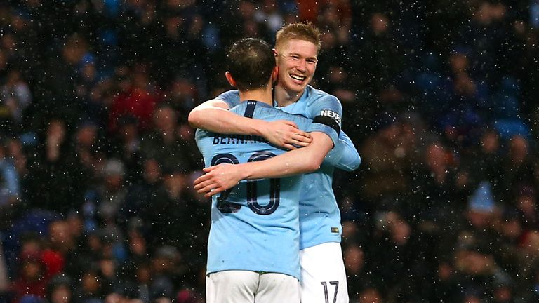Kevin De Bruyne assisted three and scored a brilliant goal in City's rout of Burnley