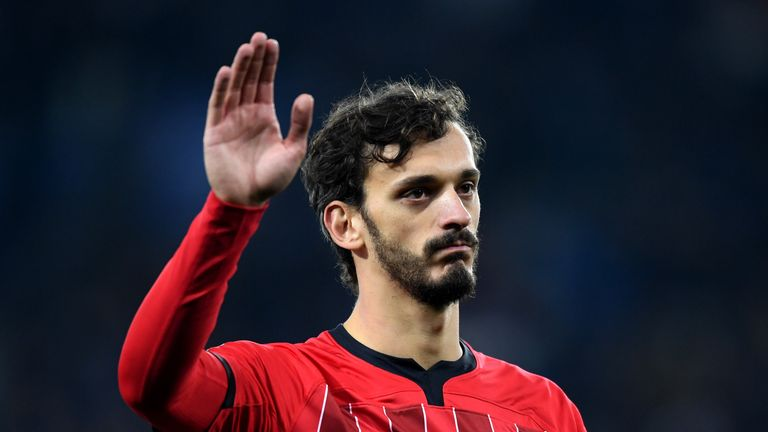 Manolo Gabbiadini scored six goals in his first four games after joining Southampton in January 2017
