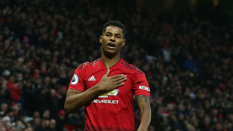 Marcus Rashford has been in fine form since Ole Gunnar Solskjaer took charge
