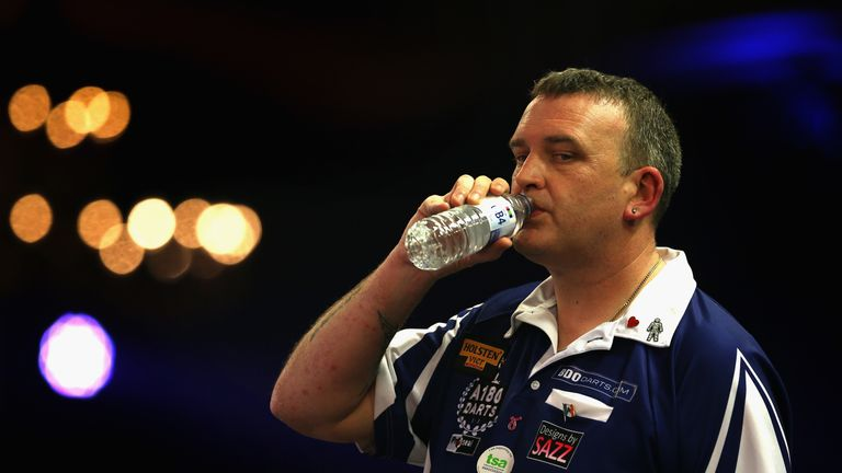 Mark McGeeney has been knocked out of the BDO World Championship