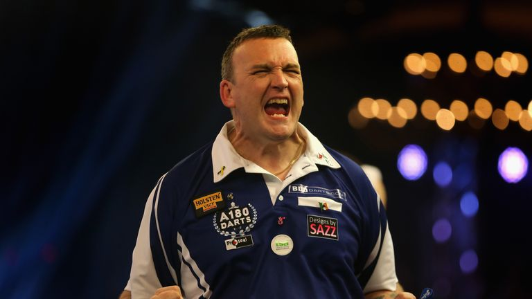 Mark McGeeney advanced to the second round of the BDO World Championship at Lakeside