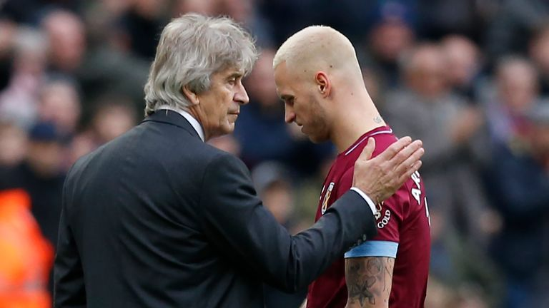 Arnautovic could be set for a return to West Ham's starting line-up after being frozen out by Pellegrini