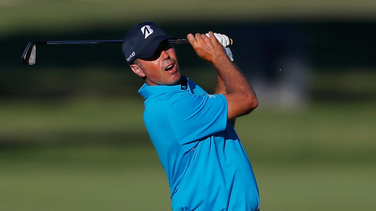 Matt Kuchar is two off the lead after day one