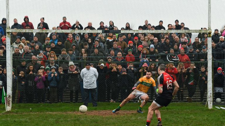 The meeting of Mayo and Leitrim was decided on penalties