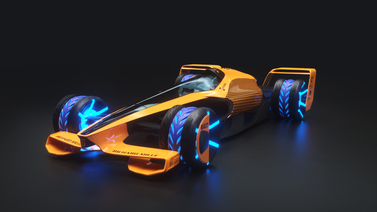 McLaren reveals 'MCLExtreme' vision for F1 in 2050